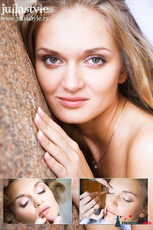 Фото 131855 в коллекции Фотографии свадебных причесок - Свадебный стилист Юлия Зайченко