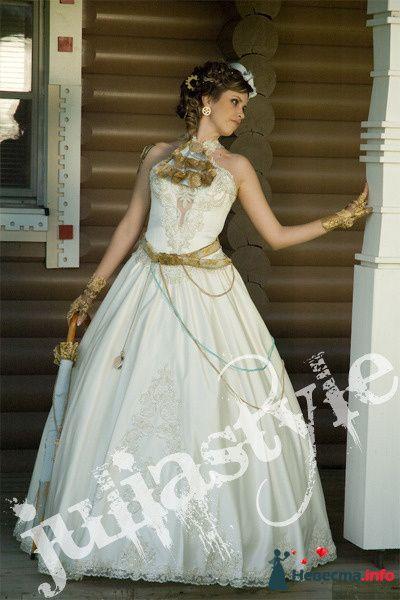 Парад невест-6 28 мая 2009 года в Москве. Образ стим-панк невесты. - фото 131868 Свадебный стилист Юлия Зайченко