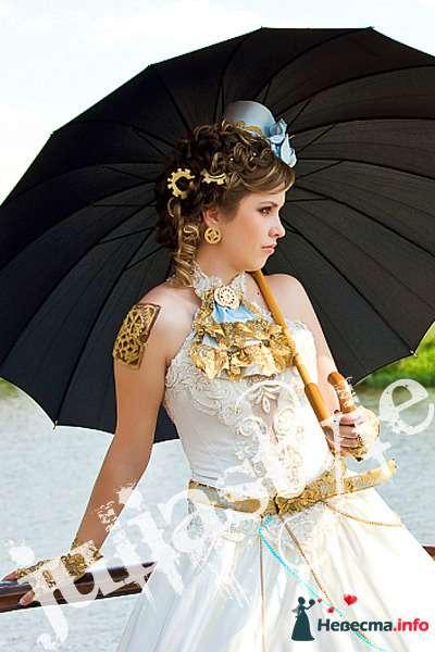 Парад невест-6 28 мая 2009 года в Москве. Образ стим-панк невесты. - фото 131870 Свадебный стилист Юлия Зайченко