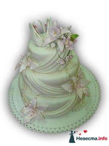 """Фото 128192 в коллекции Свадебные торты - """"Мир Любви"""" - студия свадебных услуг"""