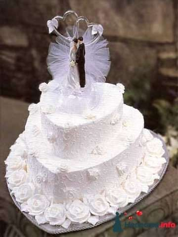 """Фото 128194 в коллекции Свадебные торты - """"Мир Любви"""" - студия свадебных услуг"""