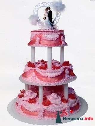 """Фото 128196 в коллекции Свадебные торты - """"Мир Любви"""" - студия свадебных услуг"""