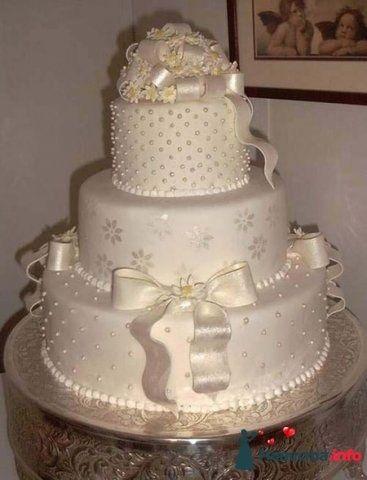 Фото 128202 в коллекции Свадебные торты