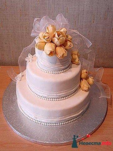 """Фото 128209 в коллекции Свадебные торты - """"Мир Любви"""" - студия свадебных услуг"""
