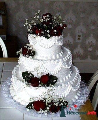 """Фото 128211 в коллекции Свадебные торты - """"Мир Любви"""" - студия свадебных услуг"""
