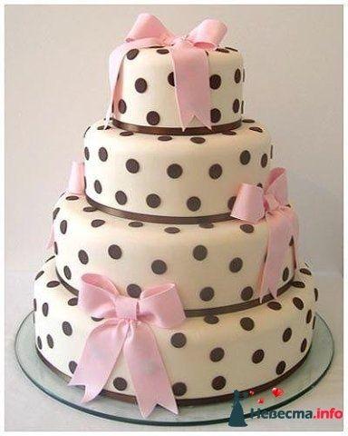 Фото 128227 в коллекции Свадебные торты