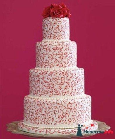 """Фото 128231 в коллекции Свадебные торты - """"Мир Любви"""" - студия свадебных услуг"""