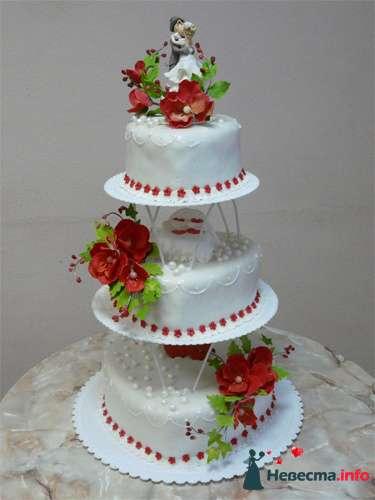 """Фото 128238 в коллекции Свадебные торты - """"Мир Любви"""" - студия свадебных услуг"""