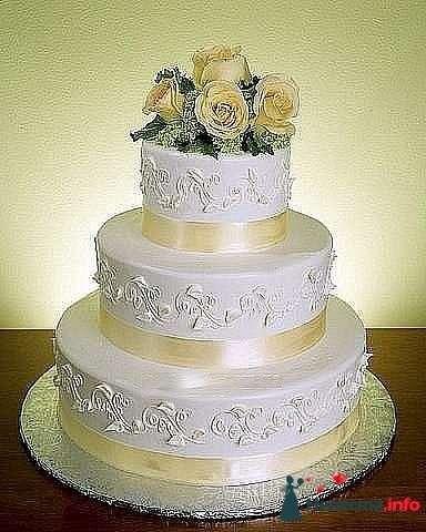 """Фото 128241 в коллекции Свадебные торты - """"Мир Любви"""" - студия свадебных услуг"""