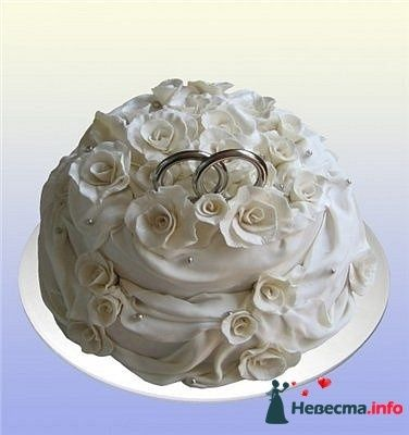 Фото 128257 в коллекции Свадебные торты