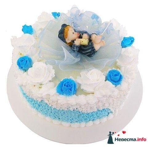 """Фото 128260 в коллекции Свадебные торты - """"Мир Любви"""" - студия свадебных услуг"""
