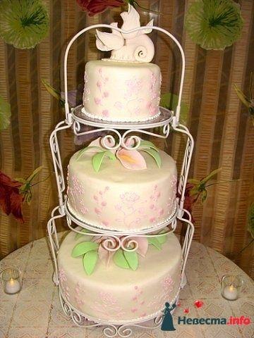 """Фото 128267 в коллекции Свадебные торты - """"Мир Любви"""" - студия свадебных услуг"""