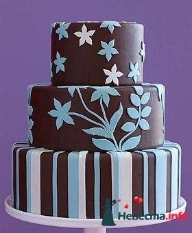 Фото 128270 в коллекции Свадебные торты