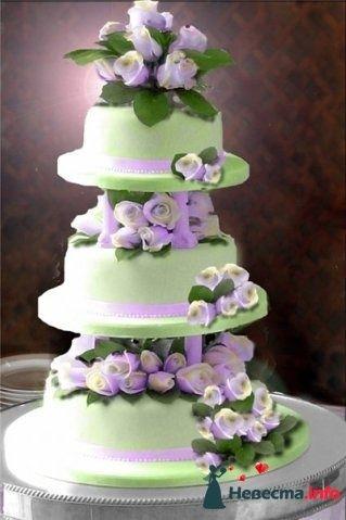 Фото 128274 в коллекции Свадебные торты