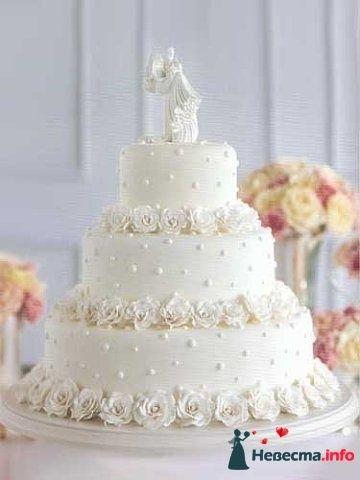 """Фото 128277 в коллекции Свадебные торты - """"Мир Любви"""" - студия свадебных услуг"""