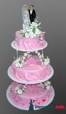 """Фото 128279 в коллекции Свадебные торты - """"Мир Любви"""" - студия свадебных услуг"""