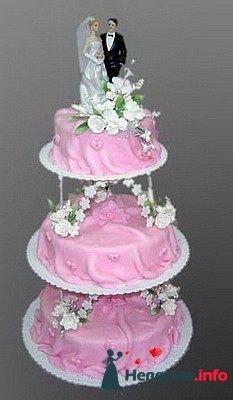 Фото 128279 в коллекции Свадебные торты