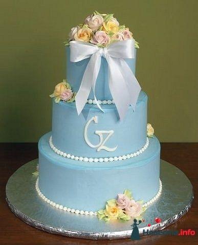 """Фото 128295 в коллекции Свадебные торты - """"Мир Любви"""" - студия свадебных услуг"""