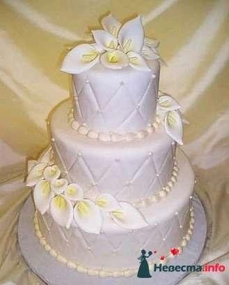 """Фото 128312 в коллекции Свадебные торты - """"Мир Любви"""" - студия свадебных услуг"""