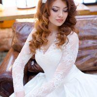 Свадебная прическа и макияж Wedding-Stile