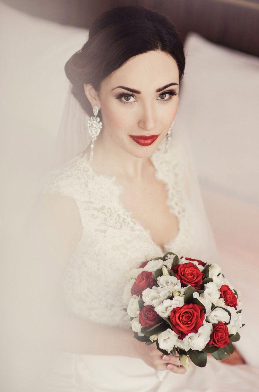 Только фото каталог свадебных причесок