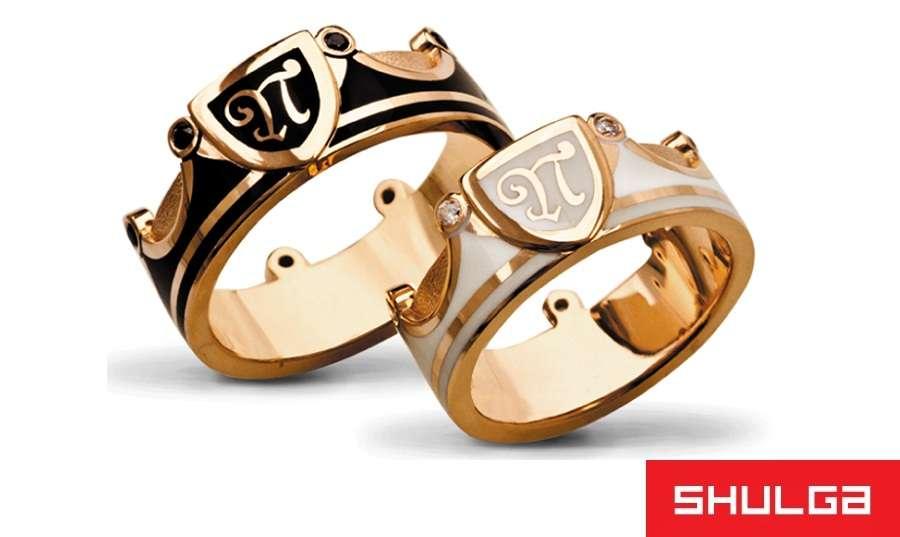 Обручальные кольца ЛИОН - фото 1277015 SHULGA - ювелирная компания