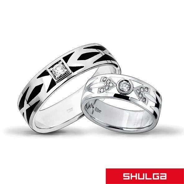 Обручальные кольца ТЕОРИЯ БЕСКОНЕЧНОСТИ - фото 1277105 SHULGA - ювелирная компания