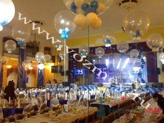 Оформление залов воздушными шарами - фото 11316 Воздушный Змей - оформление шарами