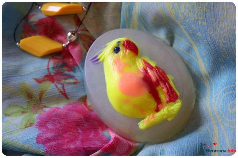 "Мыльце ""Попугайчик"" - фото 112848 Rainbow"