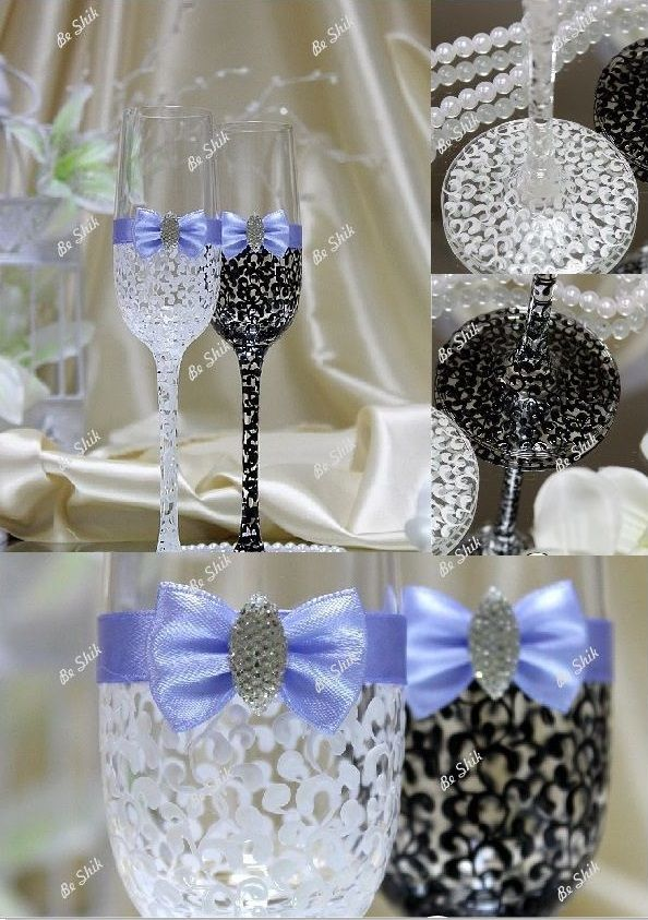 Фото 1347279 в коллекции Свадбеные Бокалы и Шампанское - Студия свадебного декора - Be Shik