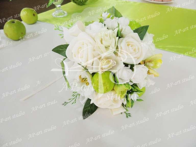 Букетик- дублер для невесты  - фото 1422473 AP-art studio - свадебный декор и аксессуары