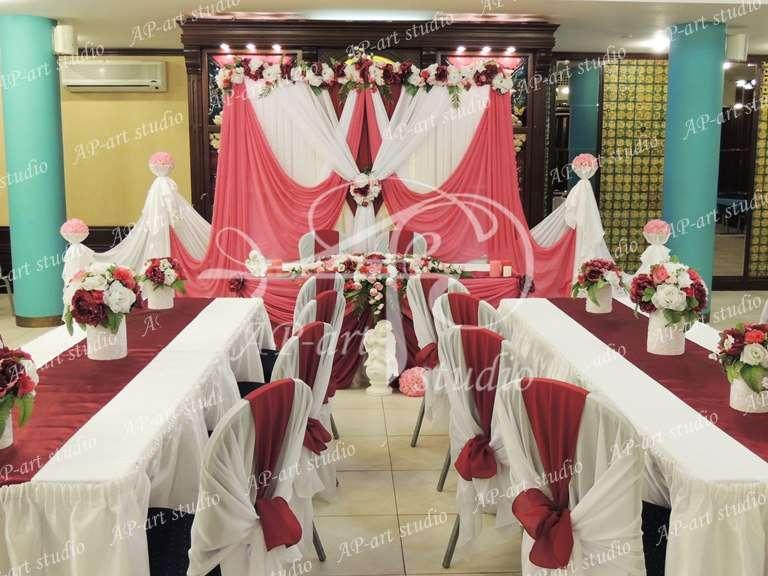 Фото 1423001 в коллекции Королевский бордо и розовый - AP-art studio - свадебный декор и аксессуары