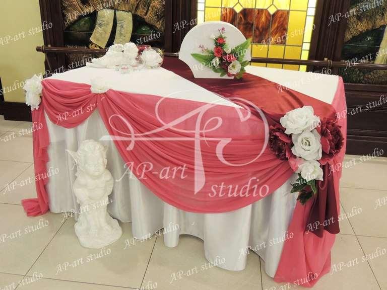 Фото 1423003 в коллекции Королевский бордо и розовый - AP-art studio - свадебный декор и аксессуары