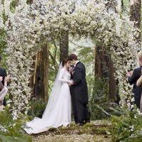В романтичной атмосфере Невеста  предстанет перед  гостями в элегантном белом платье старинного кроя.
