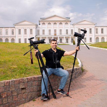 Видеосъёмка, 2 оператора +1 оператор квадрокоптера (аэросъёмка)