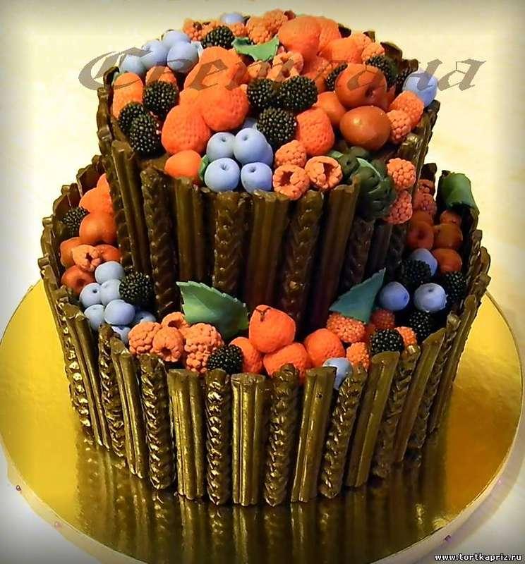 """Фото 1763709 в коллекции Свадебный торт - Авторские торты """"ТортКаприз"""""""