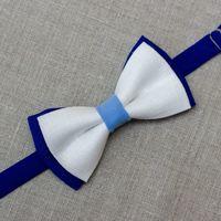 Галстук-бабочка сине-бело-голубого цвета. Стоимость бабочки - 790р.  Чтобы заказать пишите в л.с.  или по т. +7 950 038 54 26