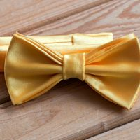 Бабочка желтого цвета из атласа Стоимость 790р.  Чтобы заказать пишите в л.с.  или по т. +7 950 038 54 26