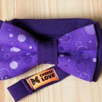Галстук-бабочка фиолетового цвета Стоимость 790р. Чтобы заказать пишите в л.с.  или по т. +7 952 216 48 01