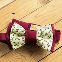 Вишневый бордовый галстук-бабочка. Стоимость 790р. Чтобы заказать пишите в л.с.  или по т. +7 952 216 48 01