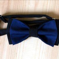 Галстук-бабочка темно-синего цвета в сочетании с черным. Стоимость - 790р.  Чтобы заказать пишите в л.с.  или по т. +7 952 216 48 01