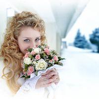 свадьба зимой - красиво
