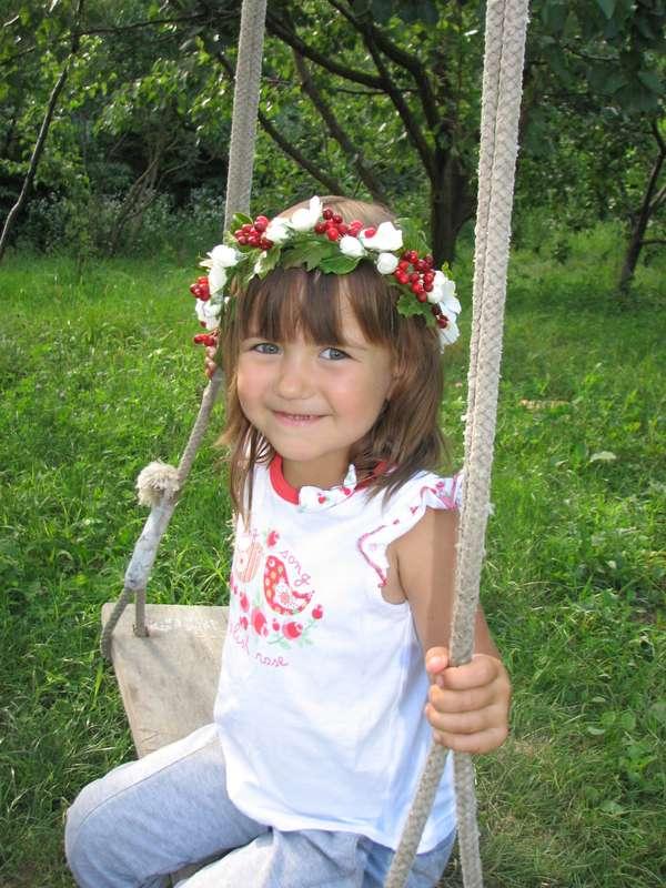Венок с калиной - фото 2695325 Олеся Галущенко - свадебные аксессуары