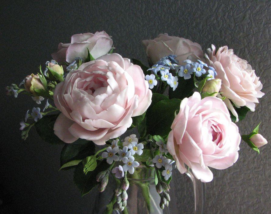 Цветы из полимерной глины. - фото 7938056 Олеся Галущенко - свадебные аксессуары