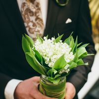 букет невесты из ландышей