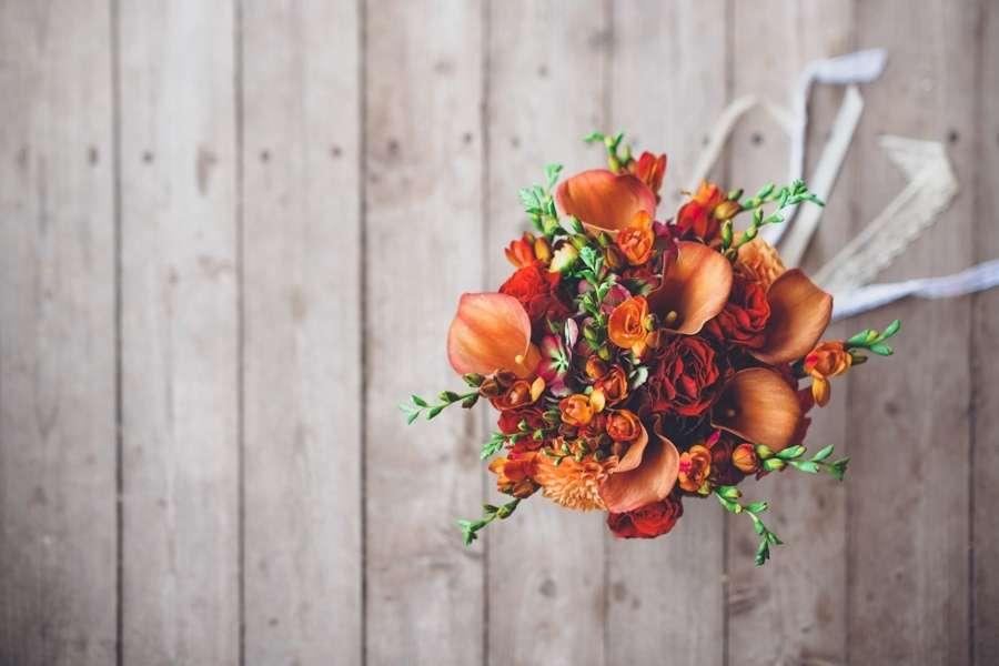 Осенний букет невесты - фото 17463786 Мастерская декора и флористики Юли Кирилловой