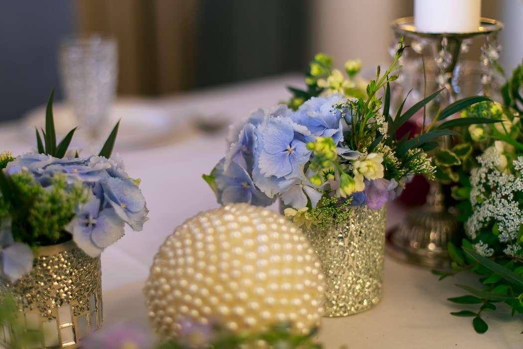 Оформление стола молодых в ресторане Дома Актеров - фото 17569884 Мастерская декора и флористики Юли Кирилловой