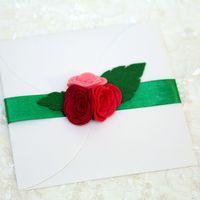 """Приглашение из коллекции """"Малиновое наслаждение"""""""