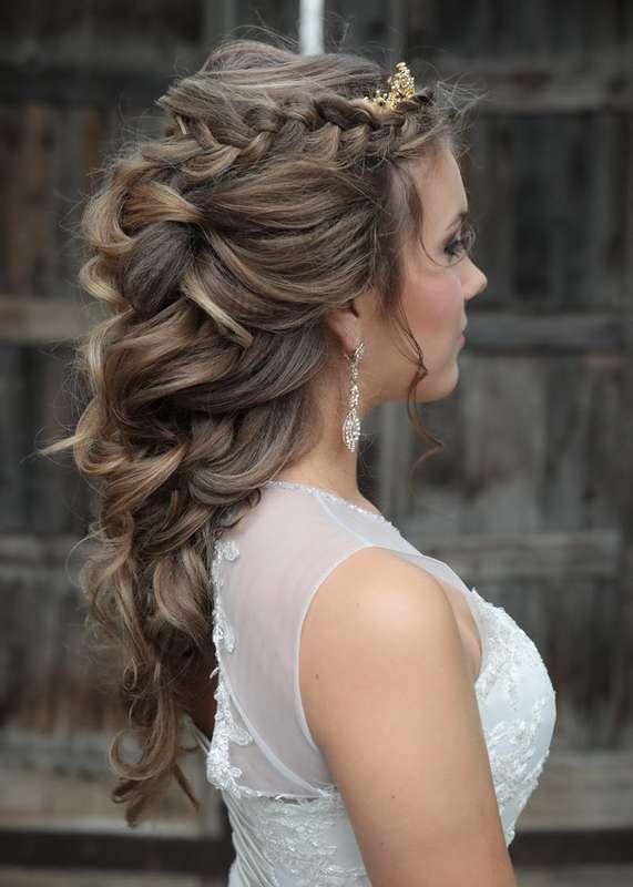 Фото греческих причесок на свадьбу длинные волосы