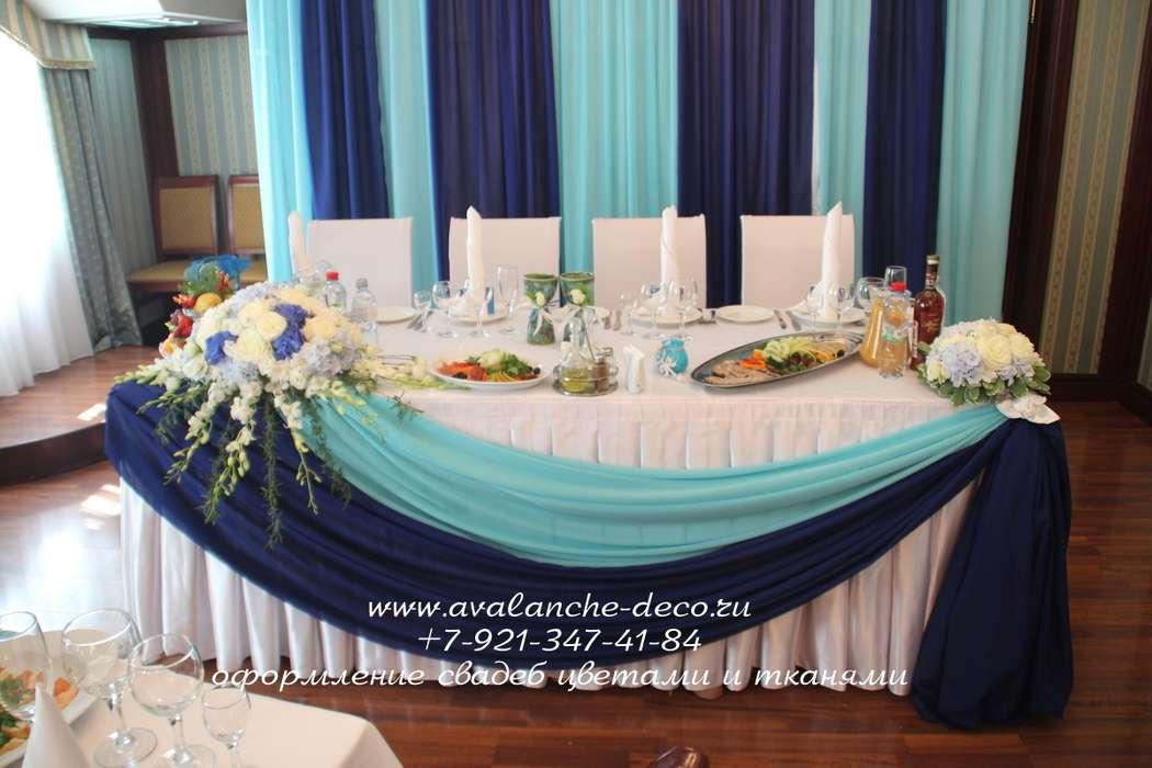 Драпировка свадебного стола своими руками пошагово 77